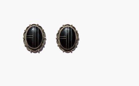 Kindred Black Oakley Earrings - sterling silver/onyx