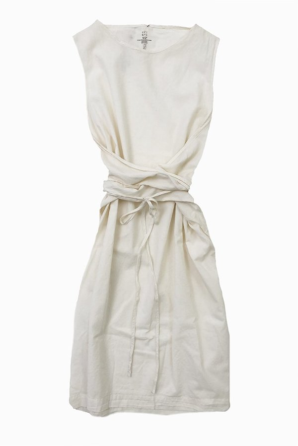 Uzi NYC UZI Oxford Dress - Cream