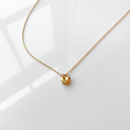 Thatch Adoring Heart Necklace - 14k gold