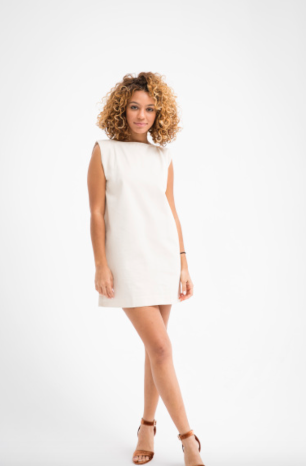 ILANA KOHN MINI KATE DRESS - CREAM