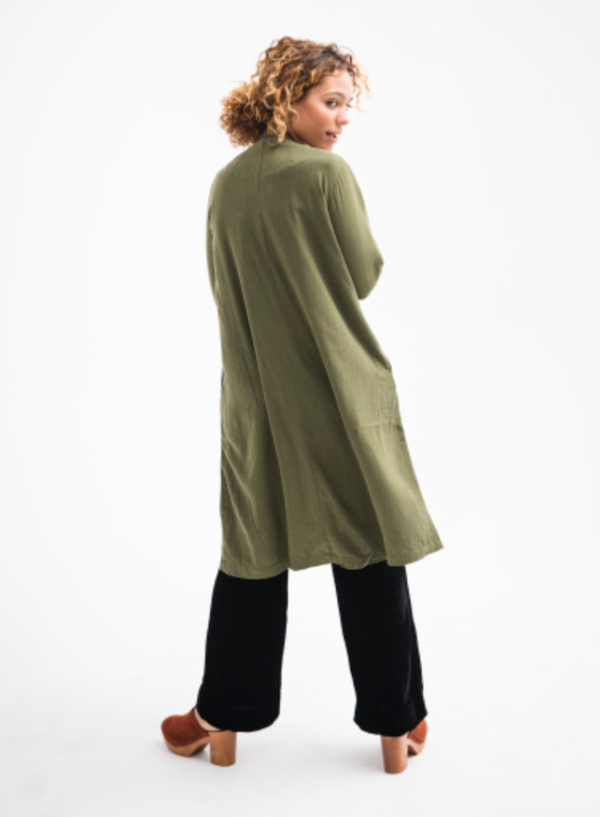 ALI GOLDEN NOTCH JACKET - GREEN
