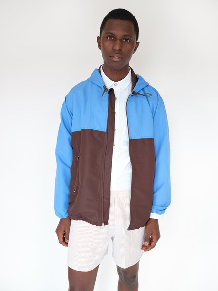 MAGILL FORD Jacket - BROWN/BLUE