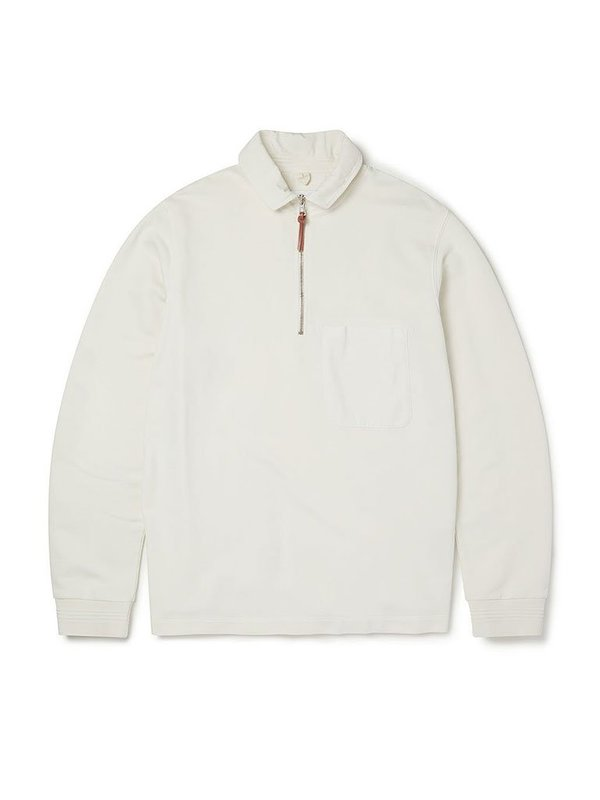 Albam Quarter Zip Pullover - Ecru
