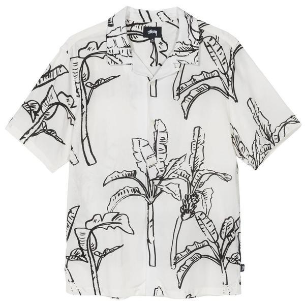 Stussy Banana Tree Shirt - Off White