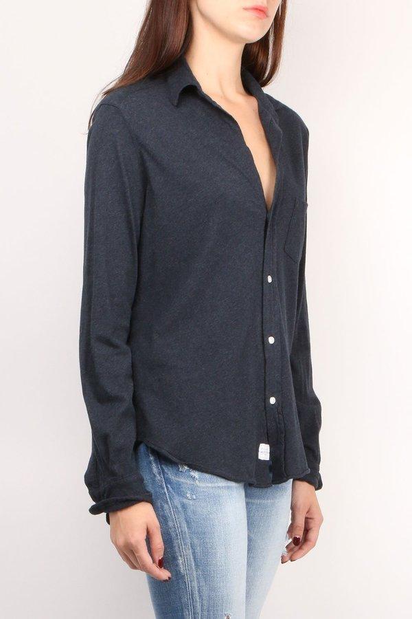 Tee Lab Button Down Shirt - Navy Melange
