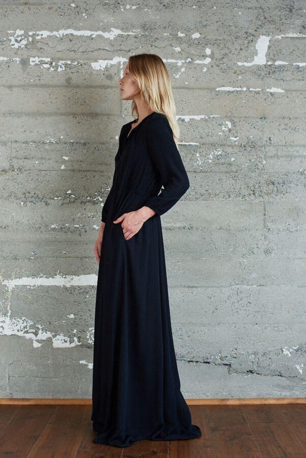 Kamperett Camille Pre Order  Bow Neck Dress