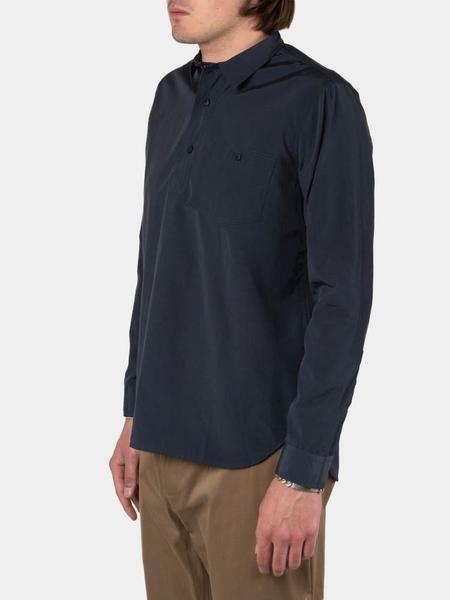 Kestin Granton Shirt - Petrol Blue