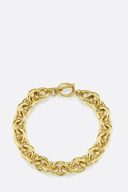 Gabriela Artigas Gold Chain Bracelet with Tusk Clasp - 14K plated