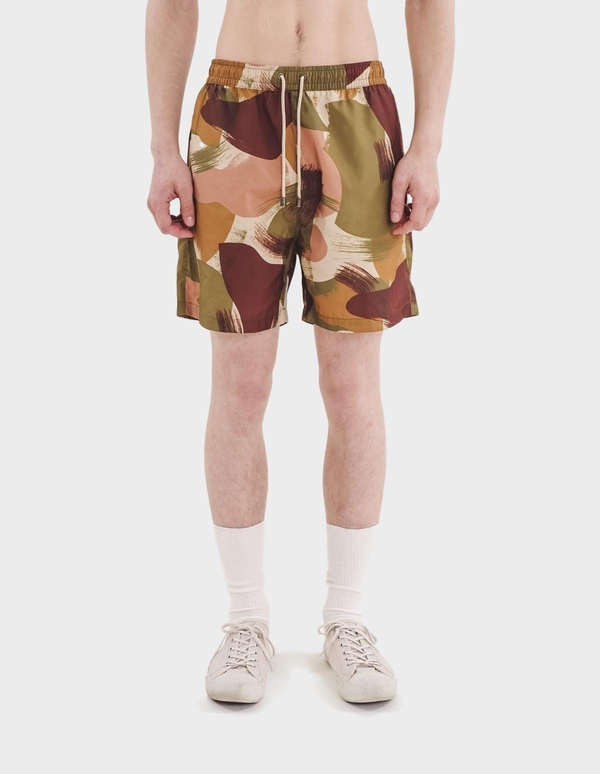 You Must Create Nemo Swimshorts - Olive