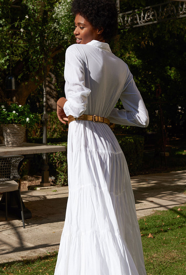 Mes Demoiselles Calam Dress - White Twist