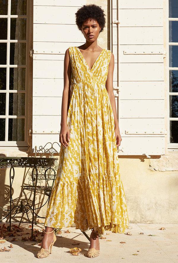 Mes Demoiselles Samarcande Dress - Yellow Sun