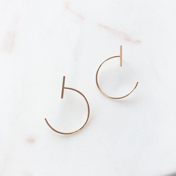 Mabel and Moss Satellite Earrings - 14k gold filled