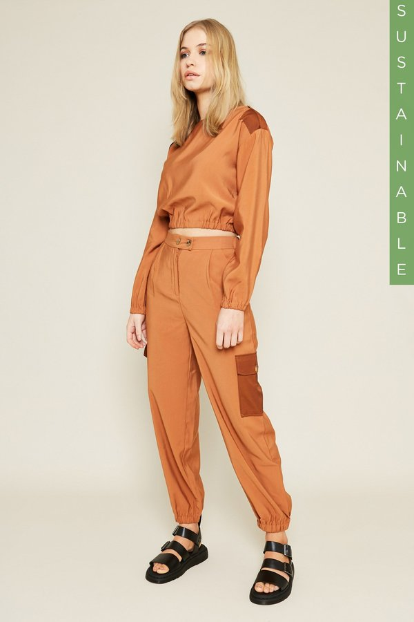 Native Youth PHELPS TOP - CARAMEL