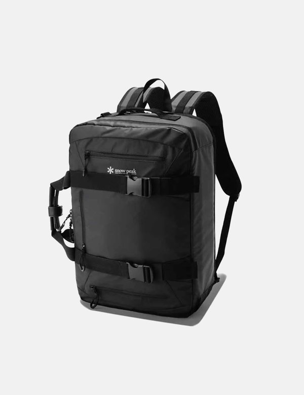 Snow Peak 3 Way Business Bag - Black