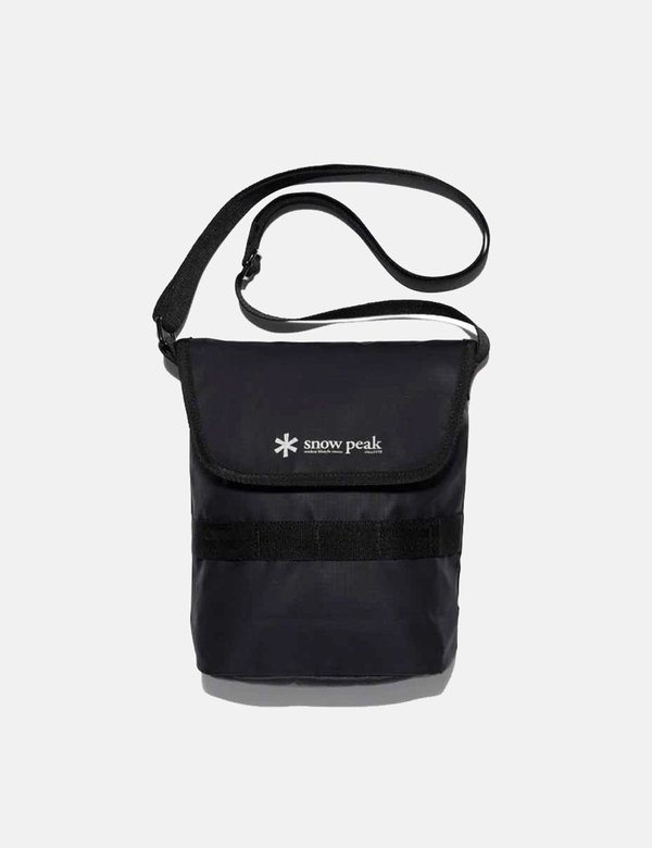 Snow Peak Mini Shoulder Bag - Black