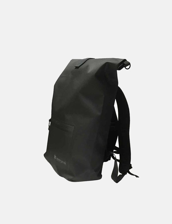 Snow Peak TPU Roll Backpack - Black