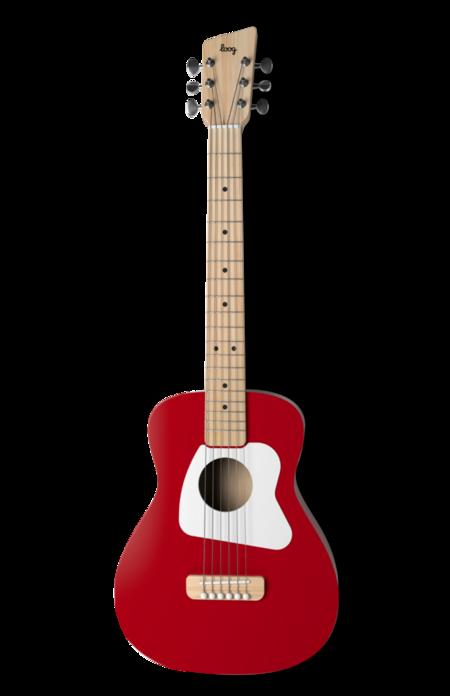 Kids Loog Guitars Loog Pro VI Acoustic Guitar - Red