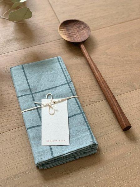 Four Leaf Wood Shop The Table for Two Bundle - Marfa Napkins