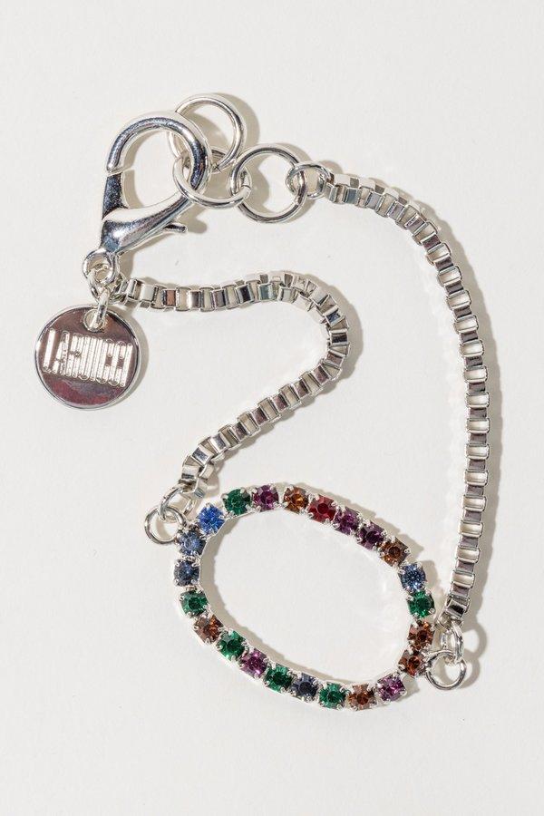 LARUICCI Crystal Bracelet - Silver