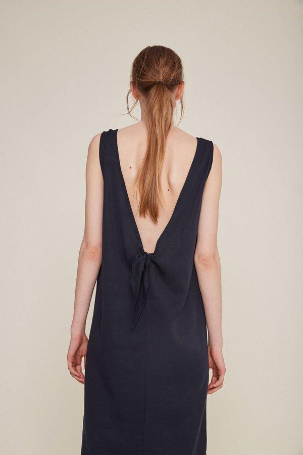 Rita Row JULIA V BACK DRESS - NAVY