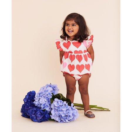 kids Pink Chicken Jennifer Bubble - Valentine Hearts