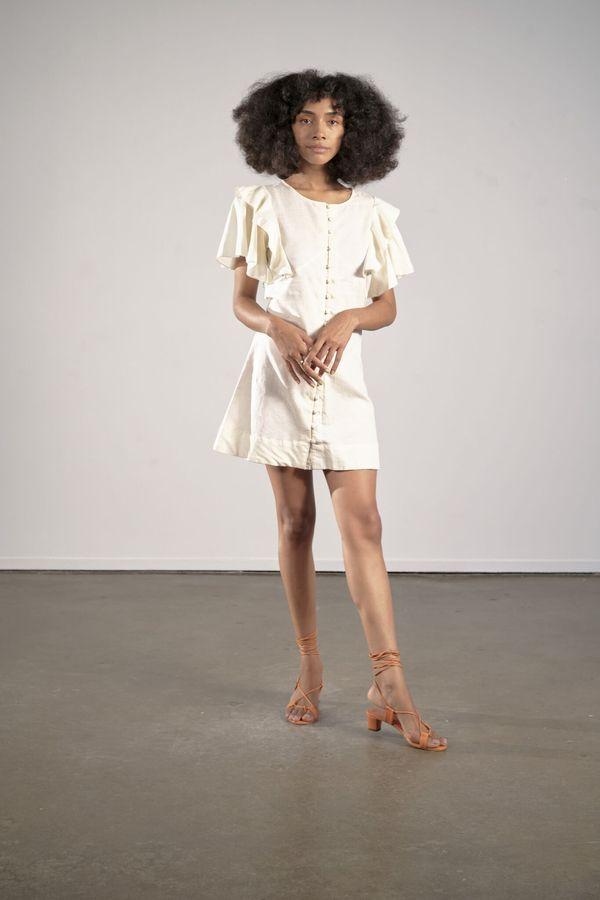 Maria Stanley Genevieve Dress - Coconut