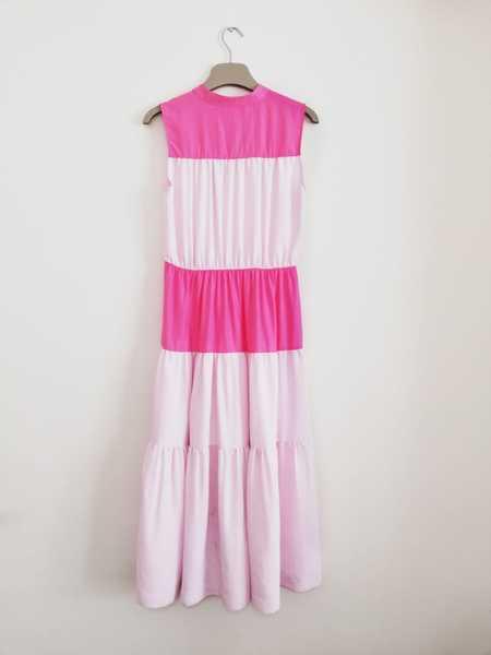 Bibliotheque Sleeveless Dress - Pink