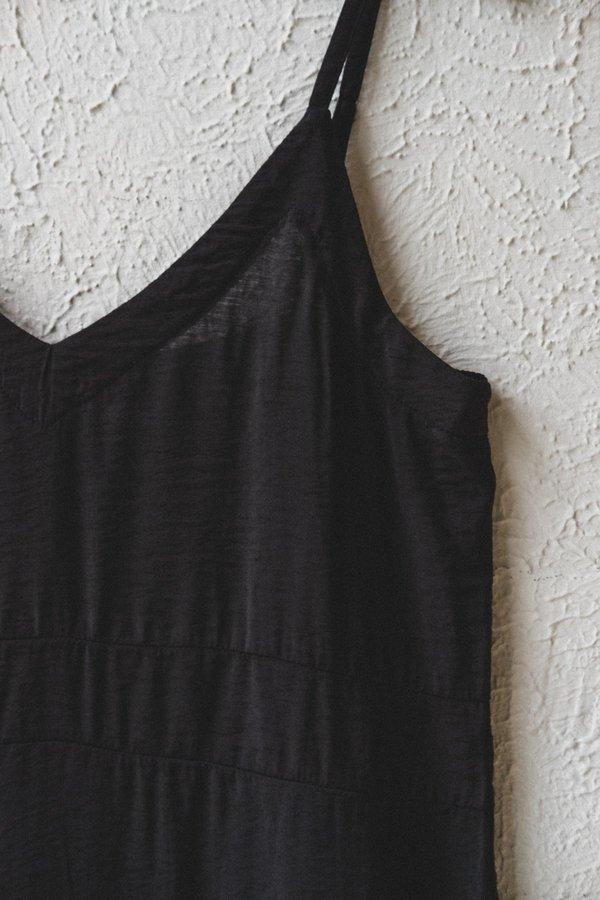 Lacausa ALMA SLIP DRESS - Black