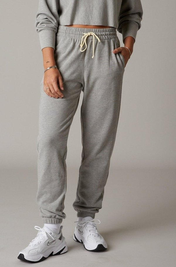 NIA Warm Up Jogger Pants - Grey