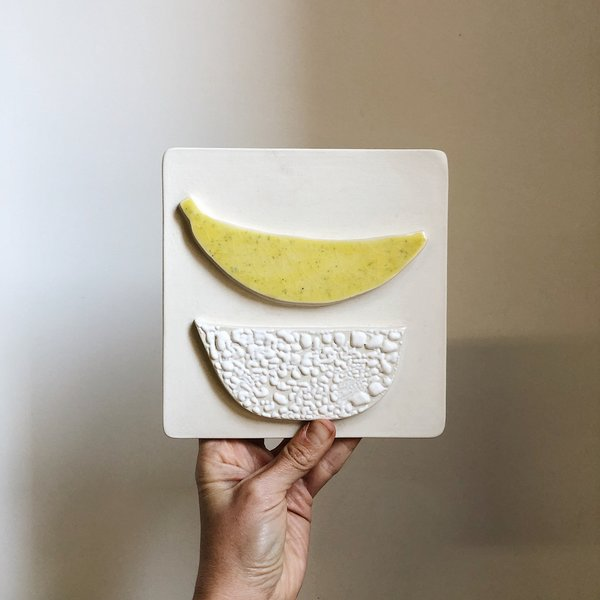 The Object Enthusiast Banana Tile