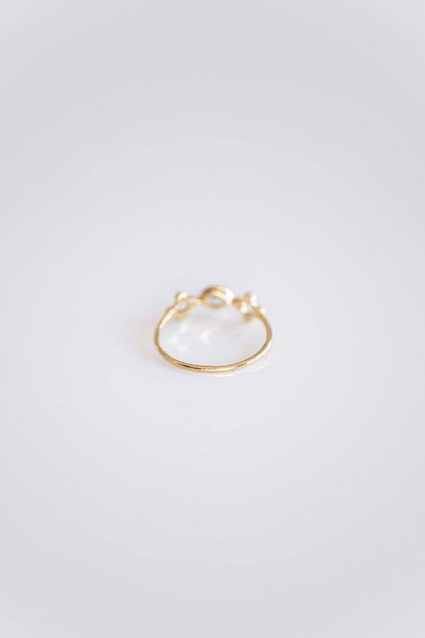 Scosha TEMPLE RING - 10k yellow gold