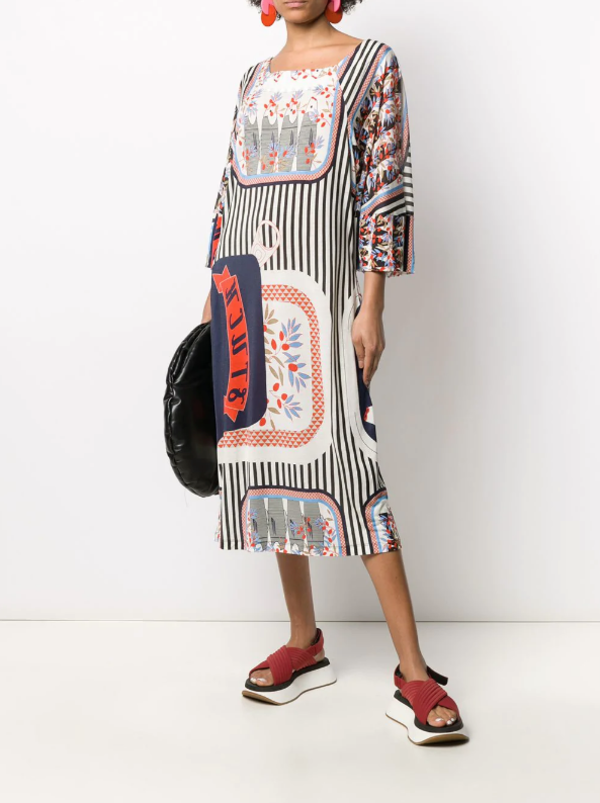 Henrik Vibskov Hang On Jersey Dress - MULTICOLOR