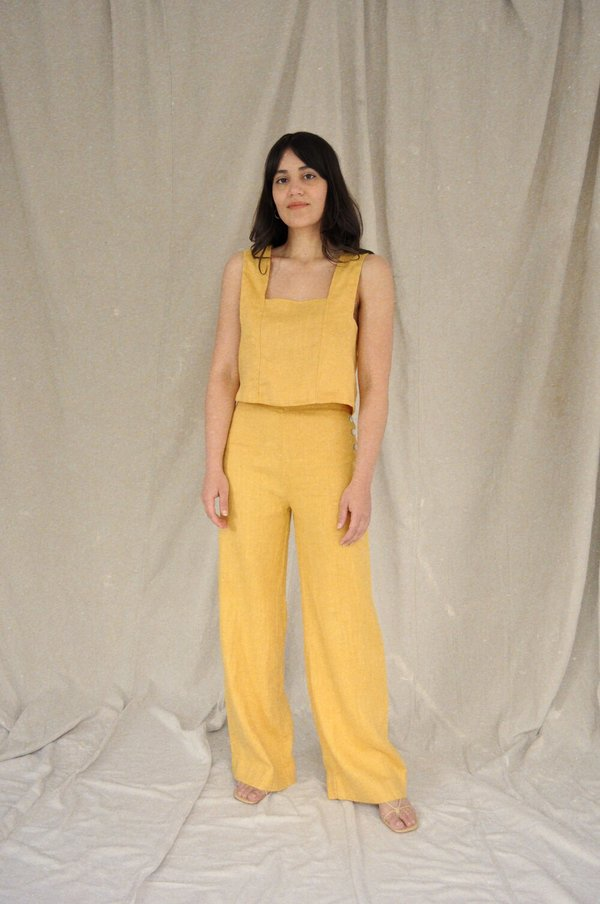Sugar Candy Mountain Calla Pant - Mustard
