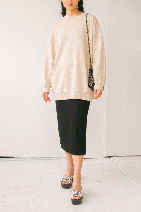 vintage Cotton Sweatshirt - Ecru