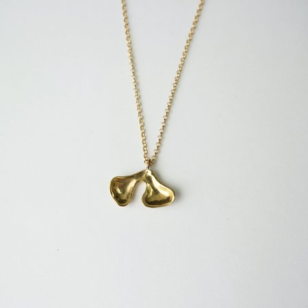Seaworthy Deux Necklace - brass
