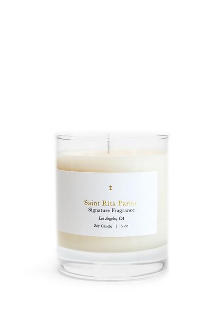 Saint Rita Parlor Candle - Signature Fragrance