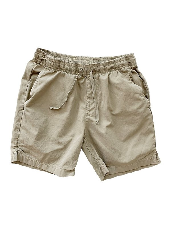 Save khaki United Light Twill Easy Short - Khaki