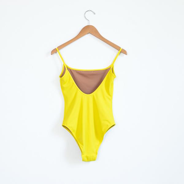 Nu Swim Noodle Suit - Yellow