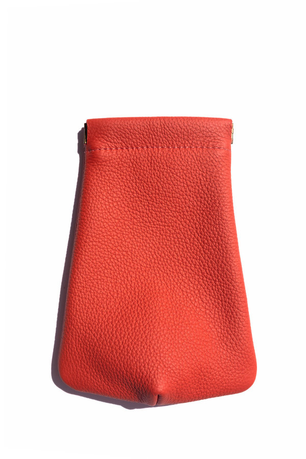 Hannah Emile Tall Stash Pouch - Flame