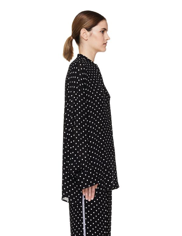 Haider Ackermann Polka Dot Shirt - Black