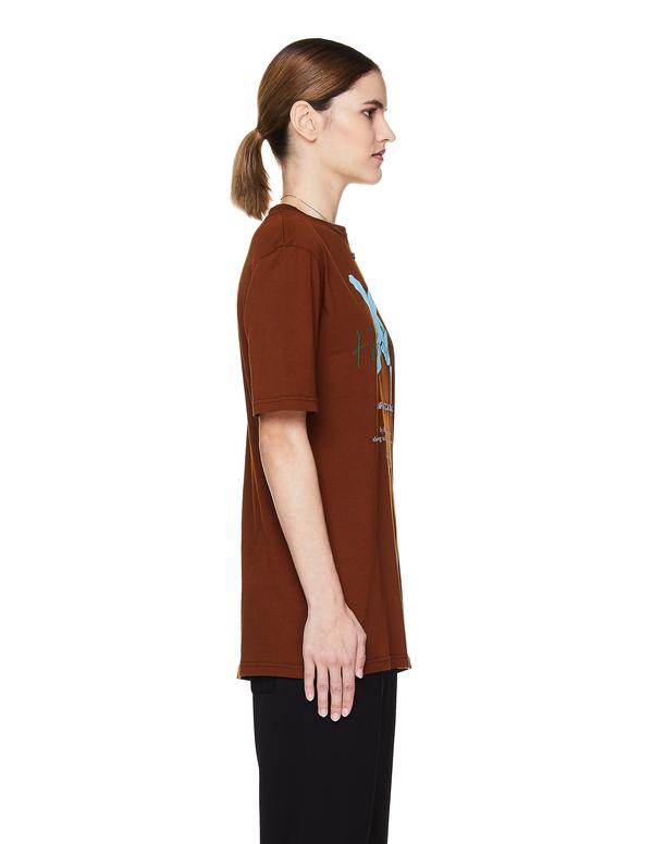 Haider Ackermann Cotton T-Shirt - Brown