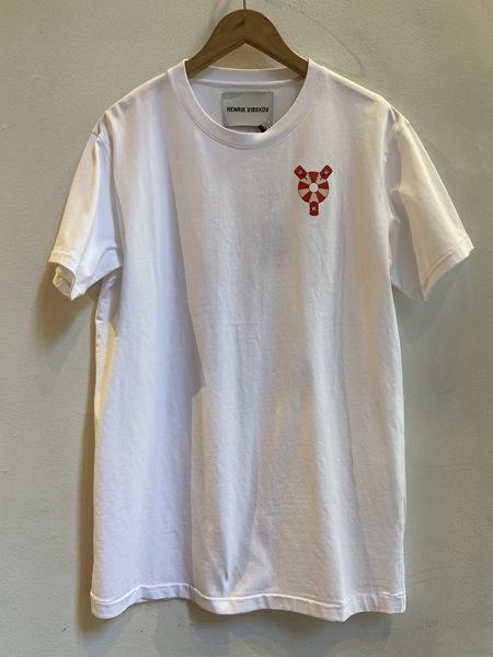 Henrik Vibskov Lifesaving Lobster T-Shirt - White