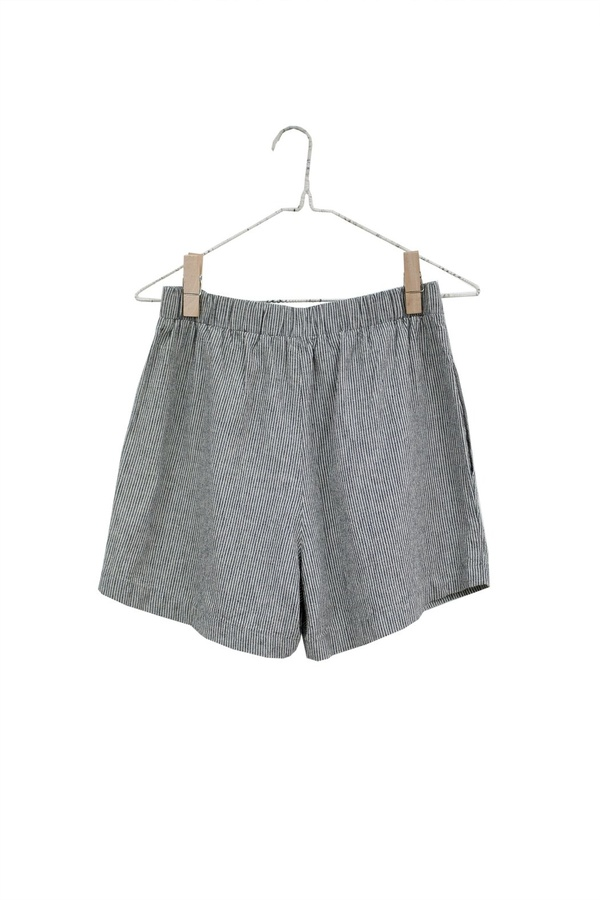It Is Well L.A. Easy Stripe Linen Shorts