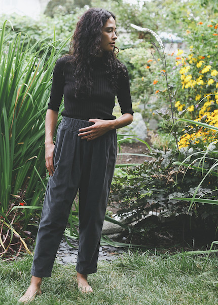 Black Crane - Carpenter Pant in Dark Shadow