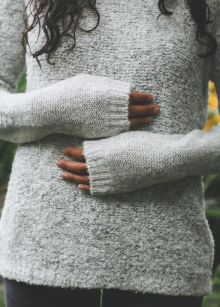 Line Knitwear - Joss in Blizzard