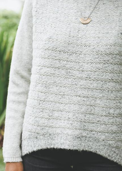 Line Knitwear - Vera in Blizzard