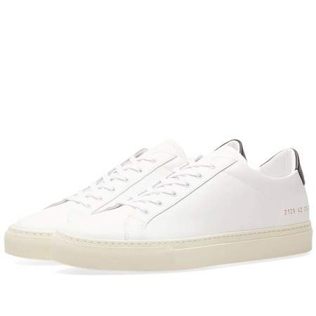 Common Projects Retro Low - White