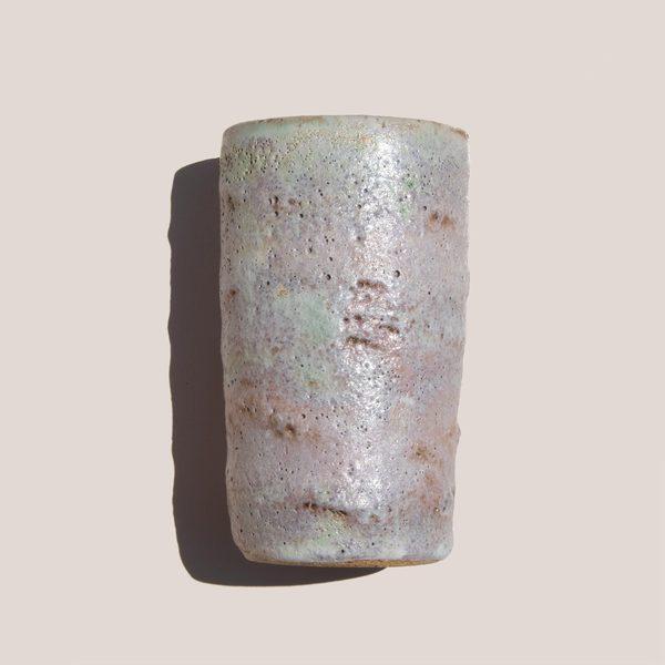 Raina Lee Ceramics Medium Multi-Fired Volcanic Vase - Lavender