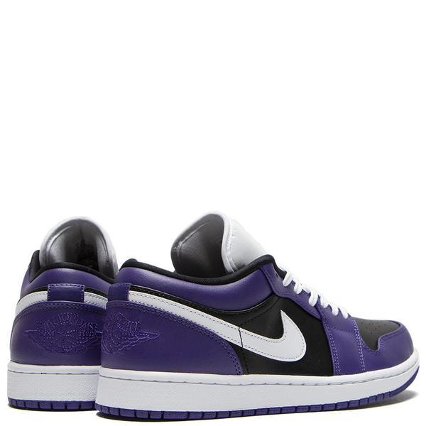 Jordan 1 Low Court Sneaker - Purple/White