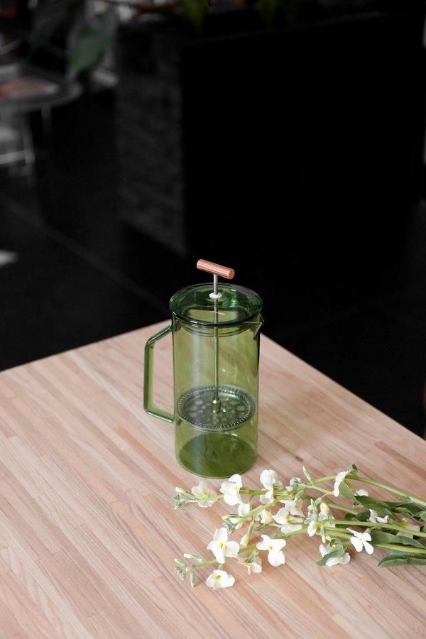 Yield 850 mL Glass French Press - Verde